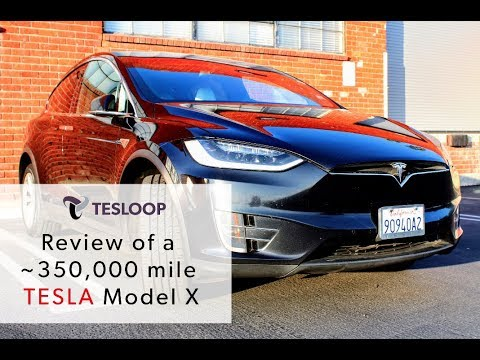 Reviewing a 350,000 Mile Tesla Model X