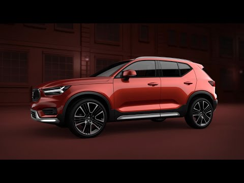 The XC40 Exterior Styling Kit