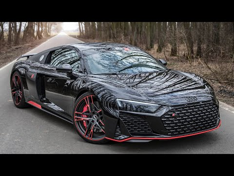 2021 AUDI R8 V10 GREEN HELL EDITION 1/50 - SUPER RARE & LAST(?) LIMITED SPEC OF THE SUPERCAR