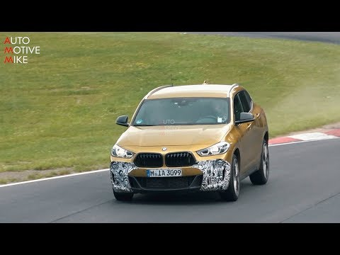 2019 BMW X2 M35i SPIED TESTING AT THE NÜRBURGRING