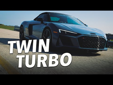 Twin Turbo Audi R8 by Hennessey Performance