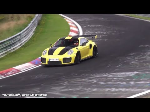 2018 Porsche GT2 RS going FAST on the Nurburgring,Nordschleife!!