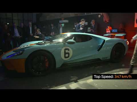 First European customers receive their Ford GT supercars