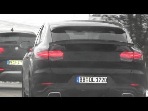 New Porsche Cayenne Coupe 2019 / 2020 (9Y0 9YA) - barely disguise prototype - Part 2