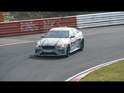 2018 JAGUAR XE SV PROJECT 8 CONTINUOUS TESTING AT THE NÜRBURGRING