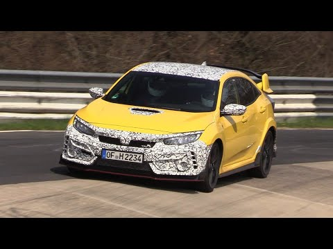 2020 Honda Civic Type R - Exhaust SOUNDS On The Nurburgring!