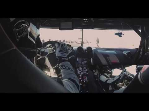 Koenigsegg Agera RS Top Speed Record - Inside footage