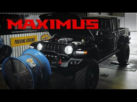MAXIMUS 1000 Jeep Chassis Dyno Testing