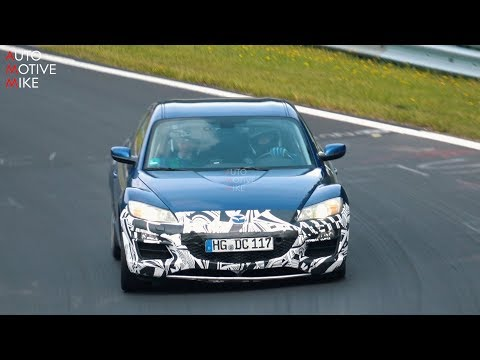 IS MAZDA TESTING A NEW ROTARY ENGINE WITH THIS RX-8 AT THE NÜRBURGRING?