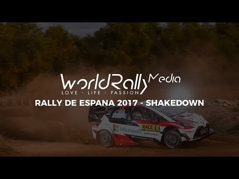 WRC RALLY SPAIN 2017 - SHAKEDOWN [PURE SOUND, MAXIMUM ATTACK]