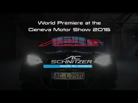 AC Schnitzer ACL2 - World Premiere at the Geneva Motor Show 2016