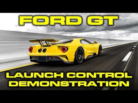 Launch Control and 0-60 MPH VBOX Dragy Testing on the new 2018 Ford GT
