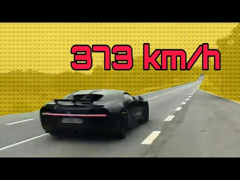 Bugatti chiron flyby sound at 373 Km/h