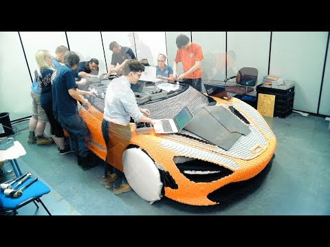 How to build a full-size LEGO McLaren
