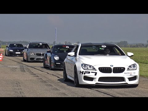 800HP BMW M6 F13 HPT with Dähler Exhaust! Revs & Drag Race!