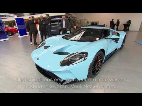 Ford GT – first delivery in Belgium