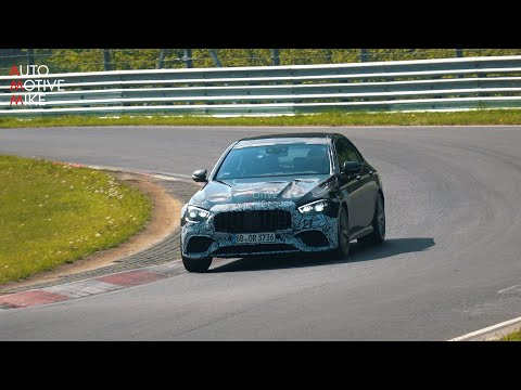 2021 MERCEDES-AMG E63 SPIED TESTING AT THE NÜRBURGRING
