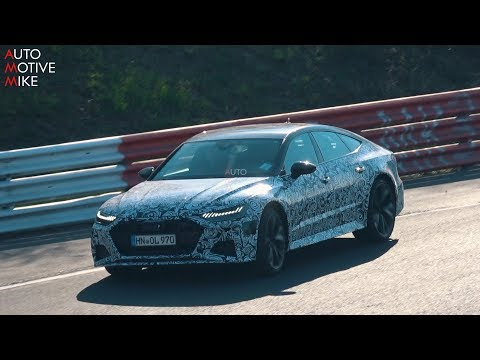 2020 AUDI RS7 SPIED TESTING AT THE NÜRBURGRING