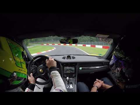 Nurburgring Supersonic taxi lap in 991.2 GT3 RS with Kevin Estre