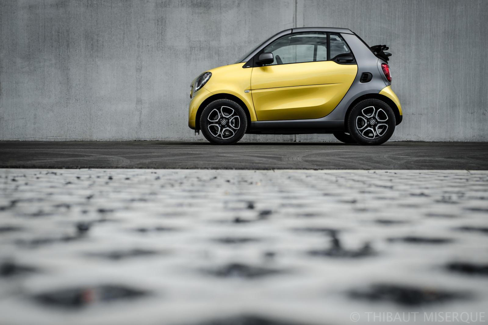 Smart Fortwo cabrio profile