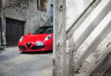 Photo de Essai : Alfa Romeo 4C Spider