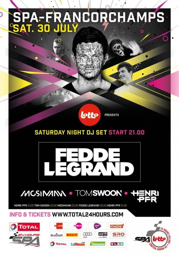 SPA 24H with Fedde Legrand