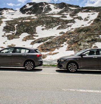 Fiat Tipo 1,4l essence vs 1,6l diesel col du grand saint bernard