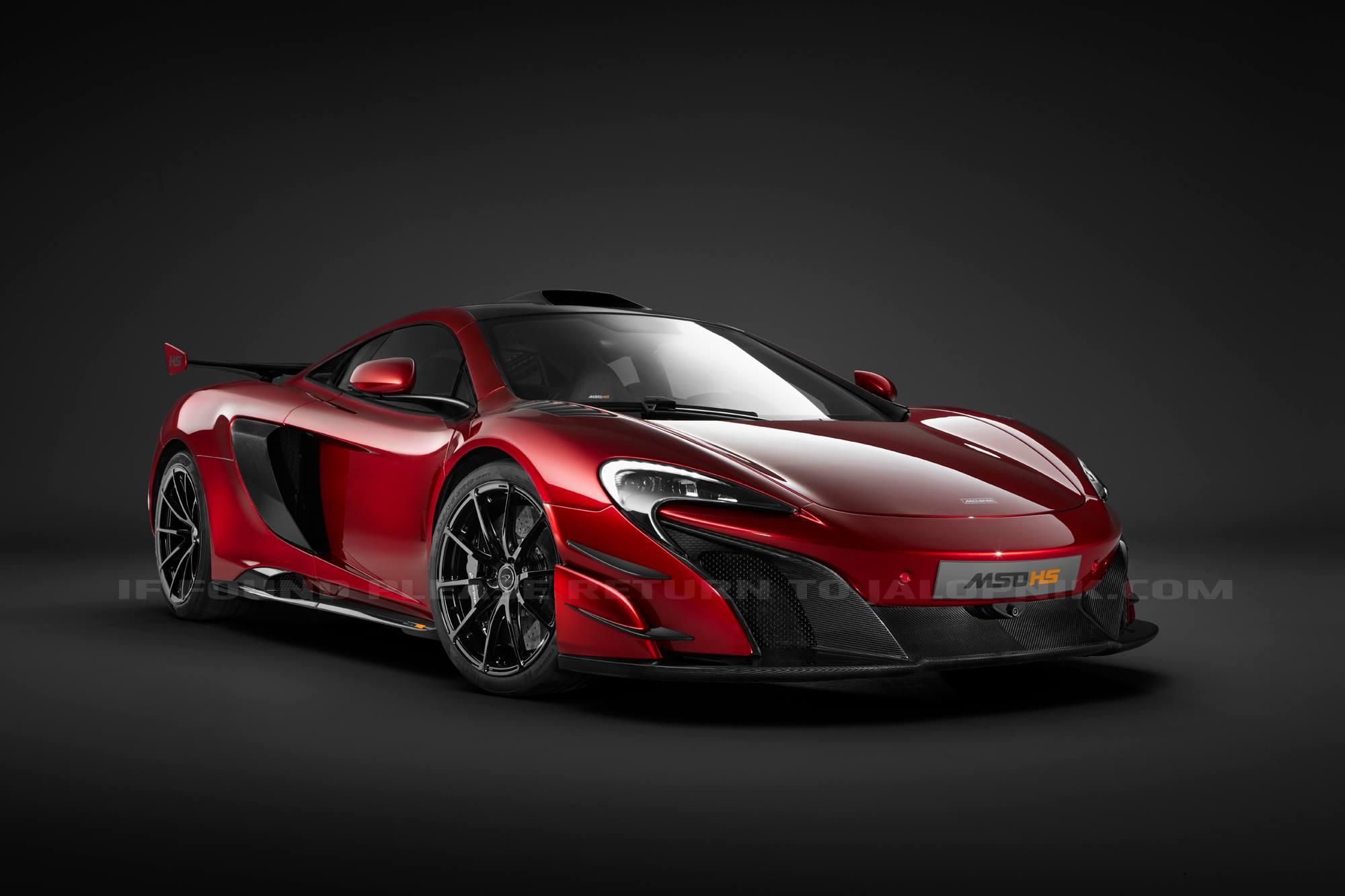 Photo de La McLaren 688HS en images