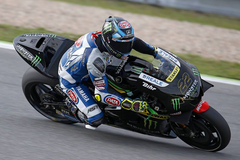 Photo de Bradley Smith blessé, sera remplacé par Alex Lowes pour deux courses