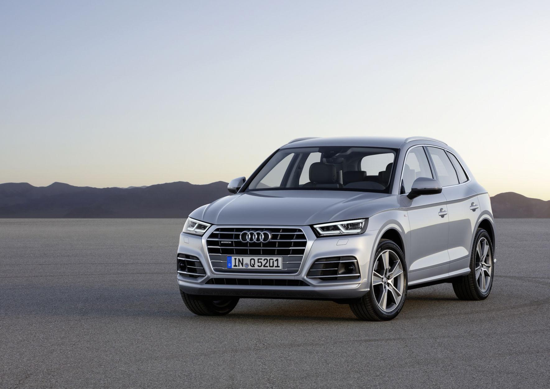 Photo de Mondial de l'automobile : Le nouvel Audi Q5 enfin dévoilé