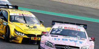Motorsports: DTM race Nuerburgring
