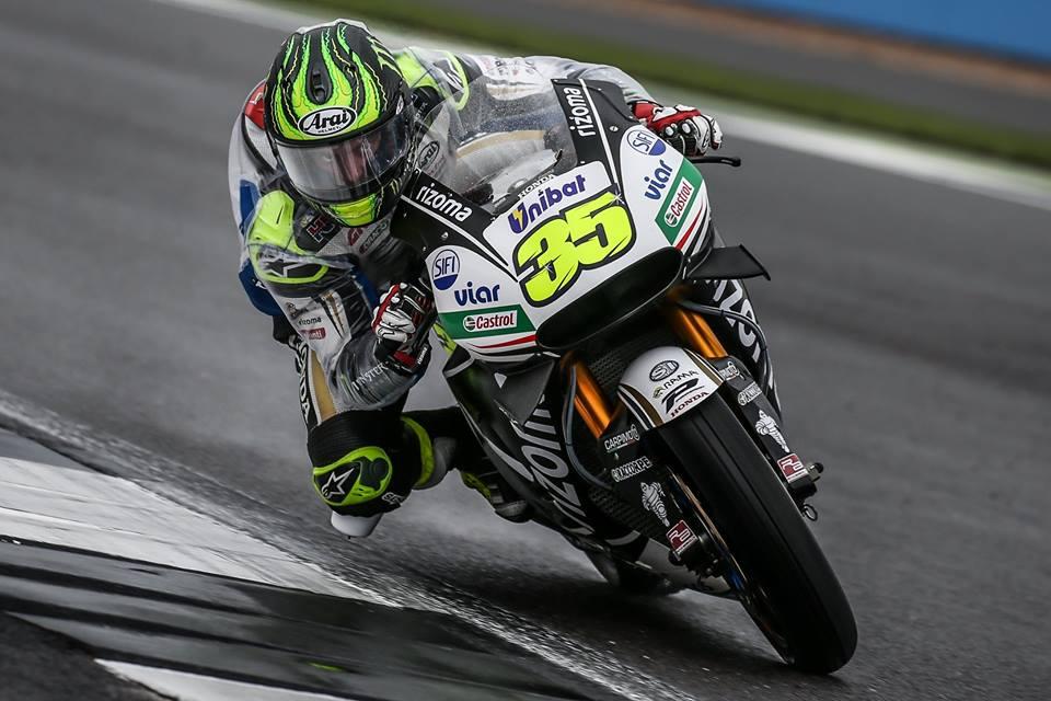 Crutchlow en pole à domicile — MotoGP