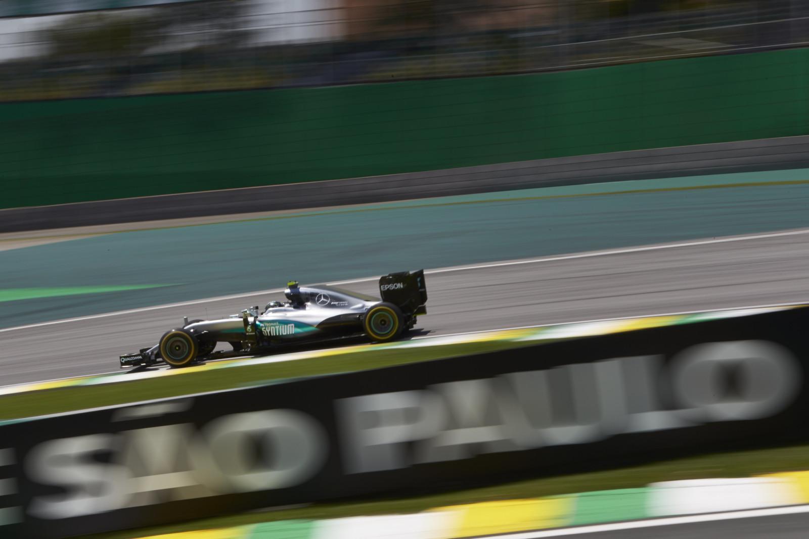 F1 - GP du Brésil - Essais libres 3 : Rosberg reprend la main