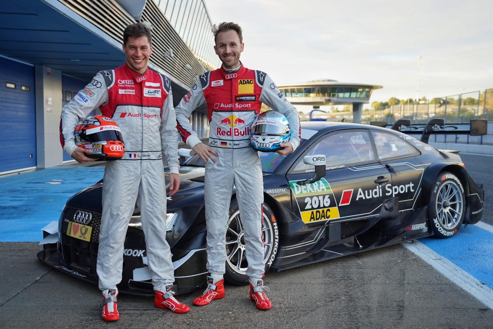 Photo de Duval et Rast confirmés chez Audi