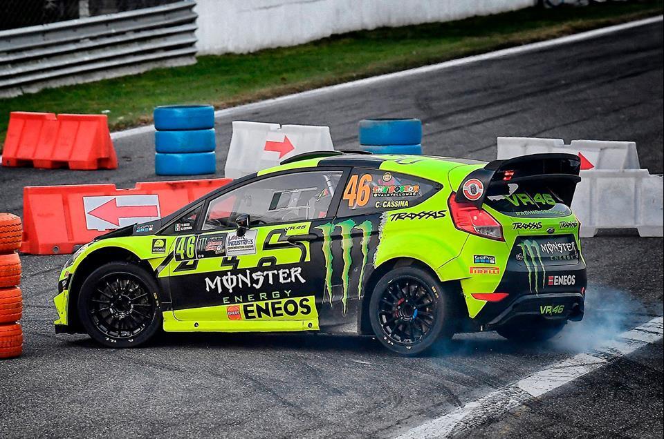 Nouveau succès pour Valentino Rossi au Monza Rally Show