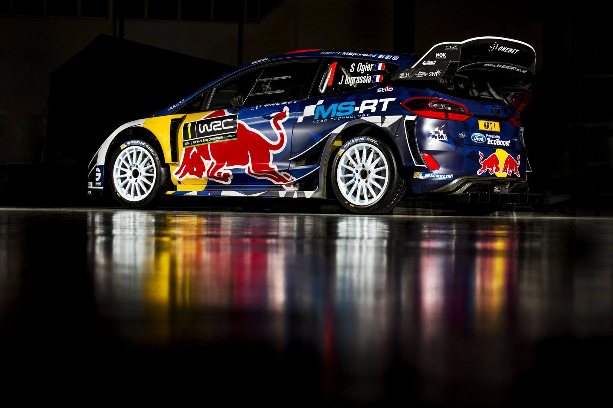 WRC - Vidéo: Les couleurs de la Ford d'Ogier