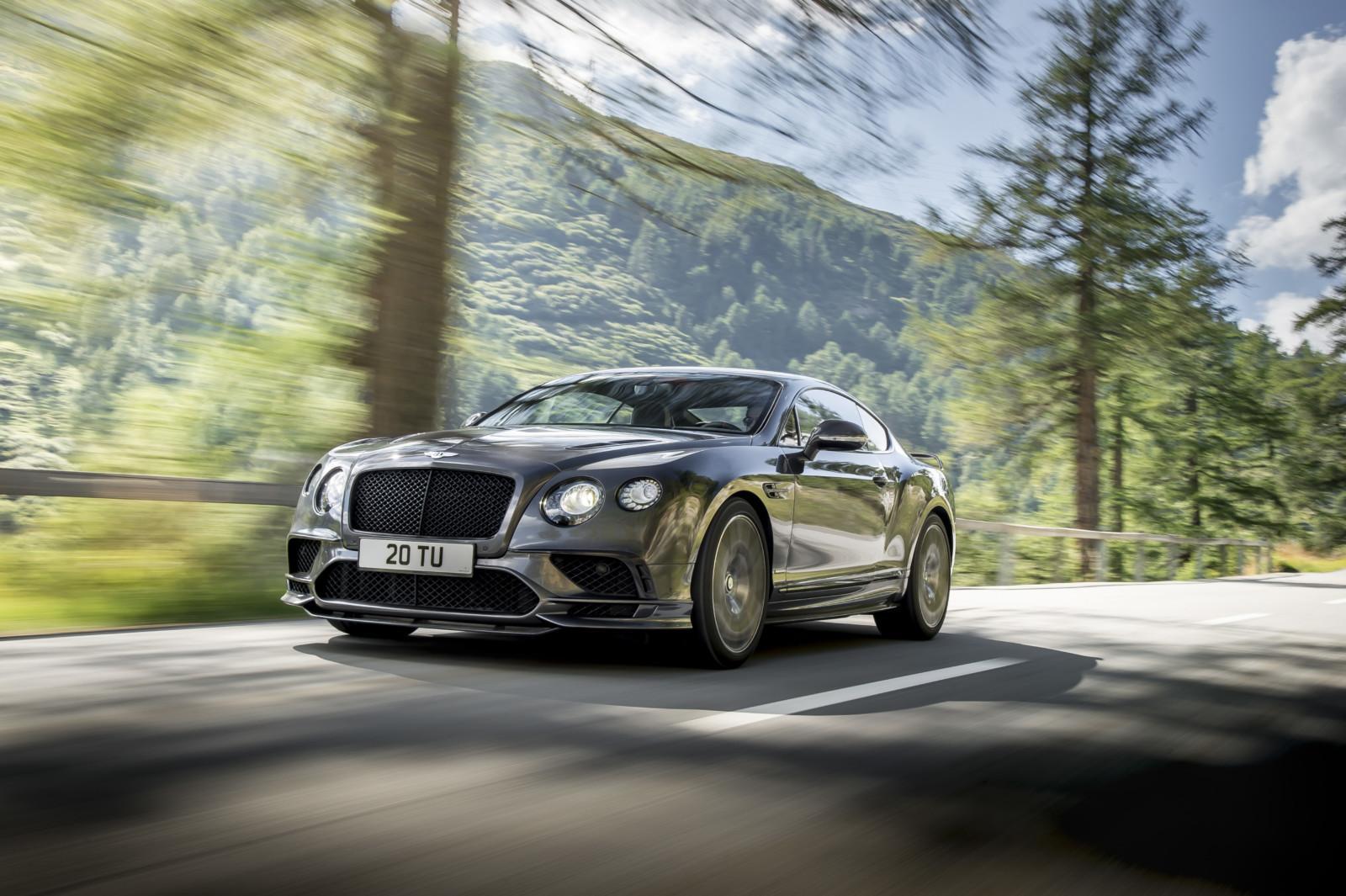 Photo de Bentley lève le voile sur sa nouvelle Continental SuperSports