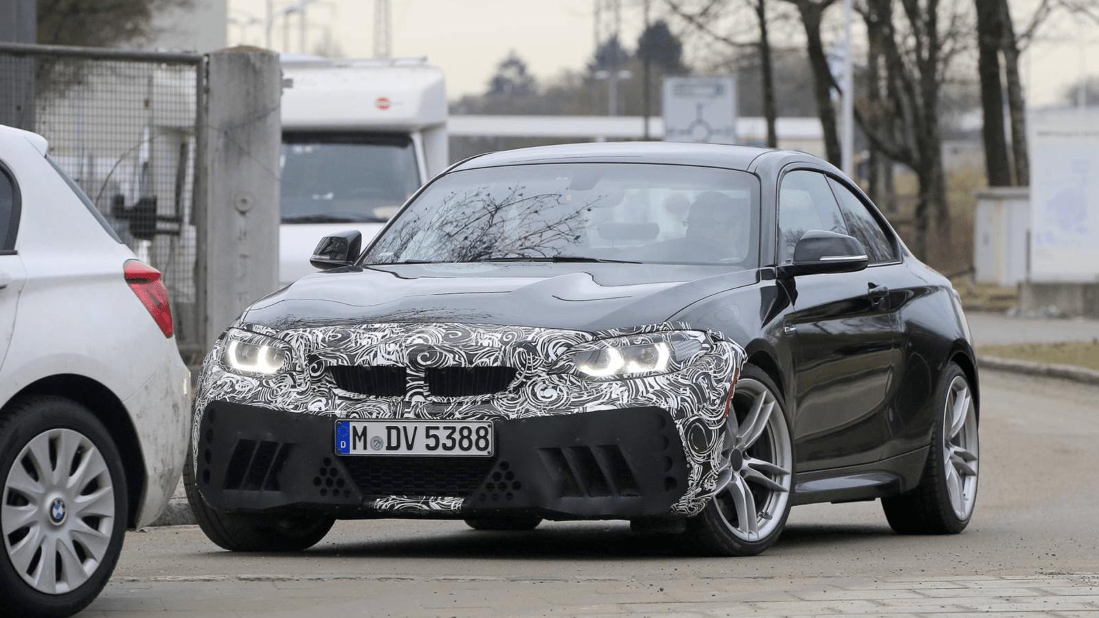 Photo de Une BMW M2 améliorée pour 2018