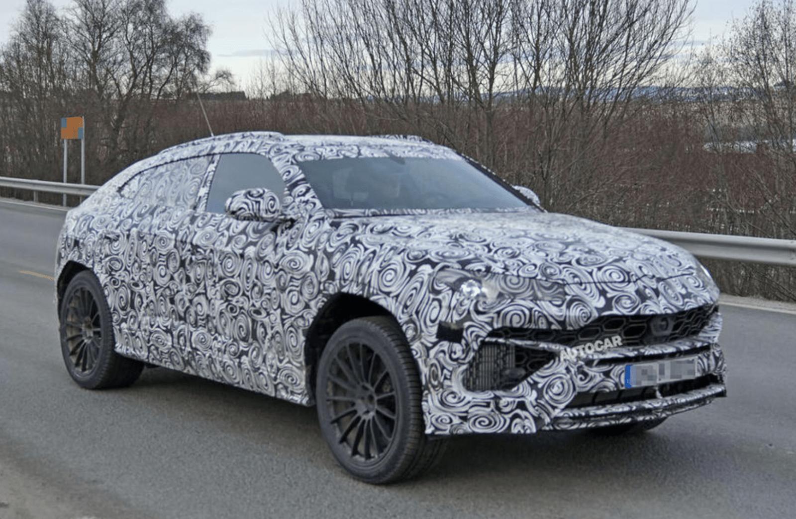 Photo de La Lamborghini Urus devient réalité !
