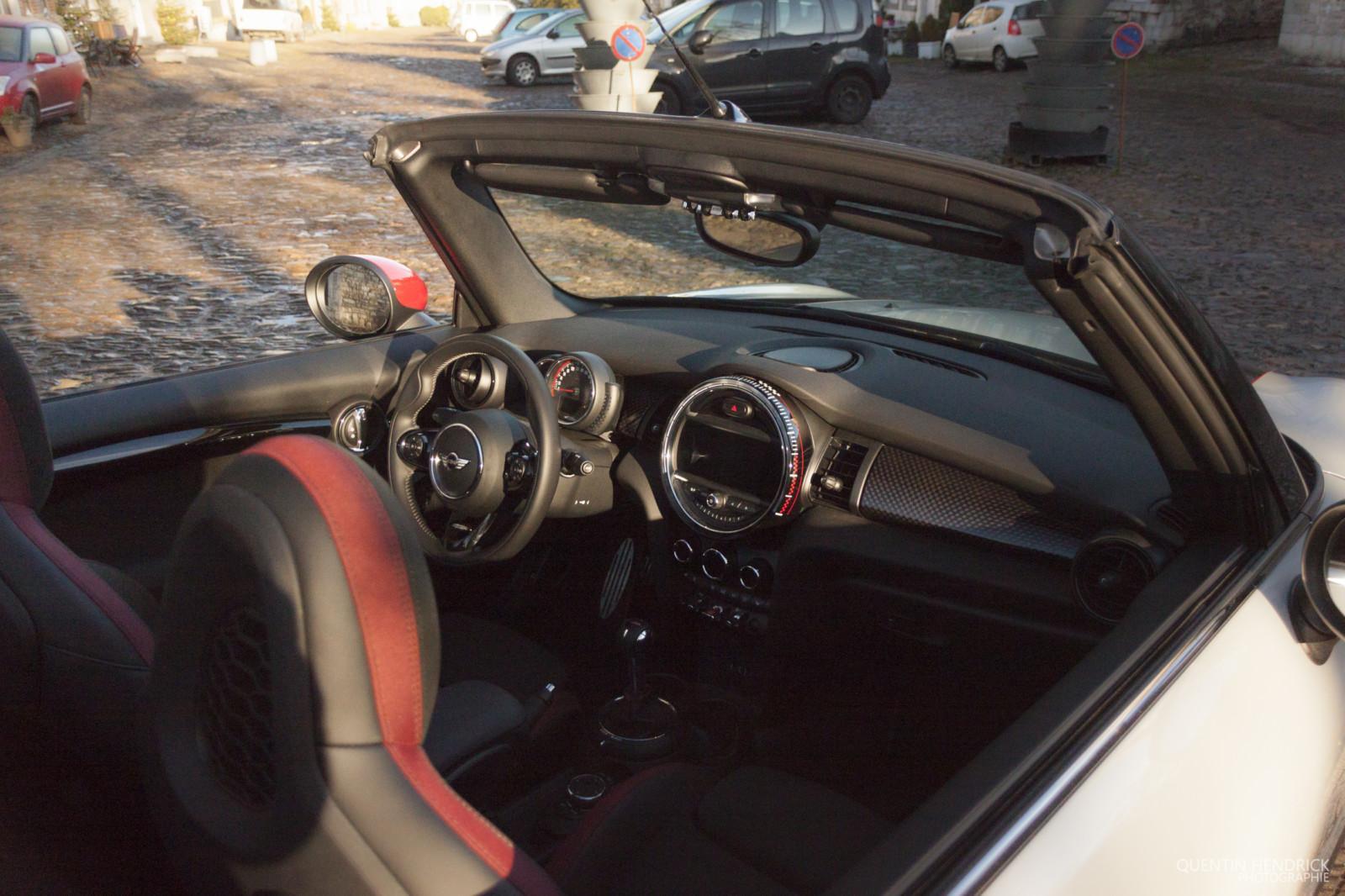 mini jcw 8 - Essai : MINI JCW Cabriolet