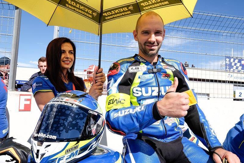Anthony Delhalle, Champion du monde d'Endurance moto, s'en est allé