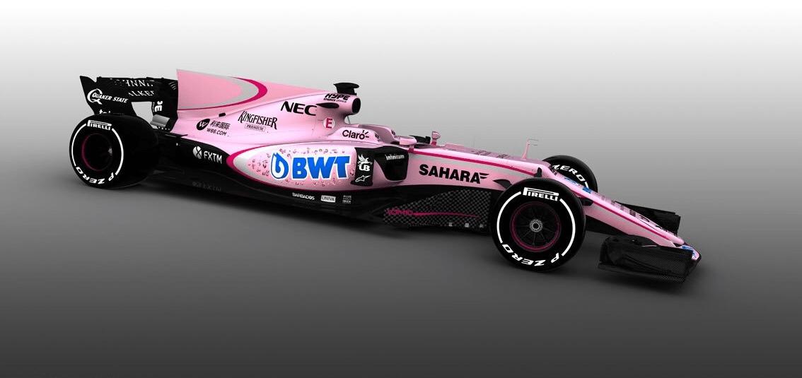 FI - Force India verra rose en 2017 suite à un nouveau partenaire!