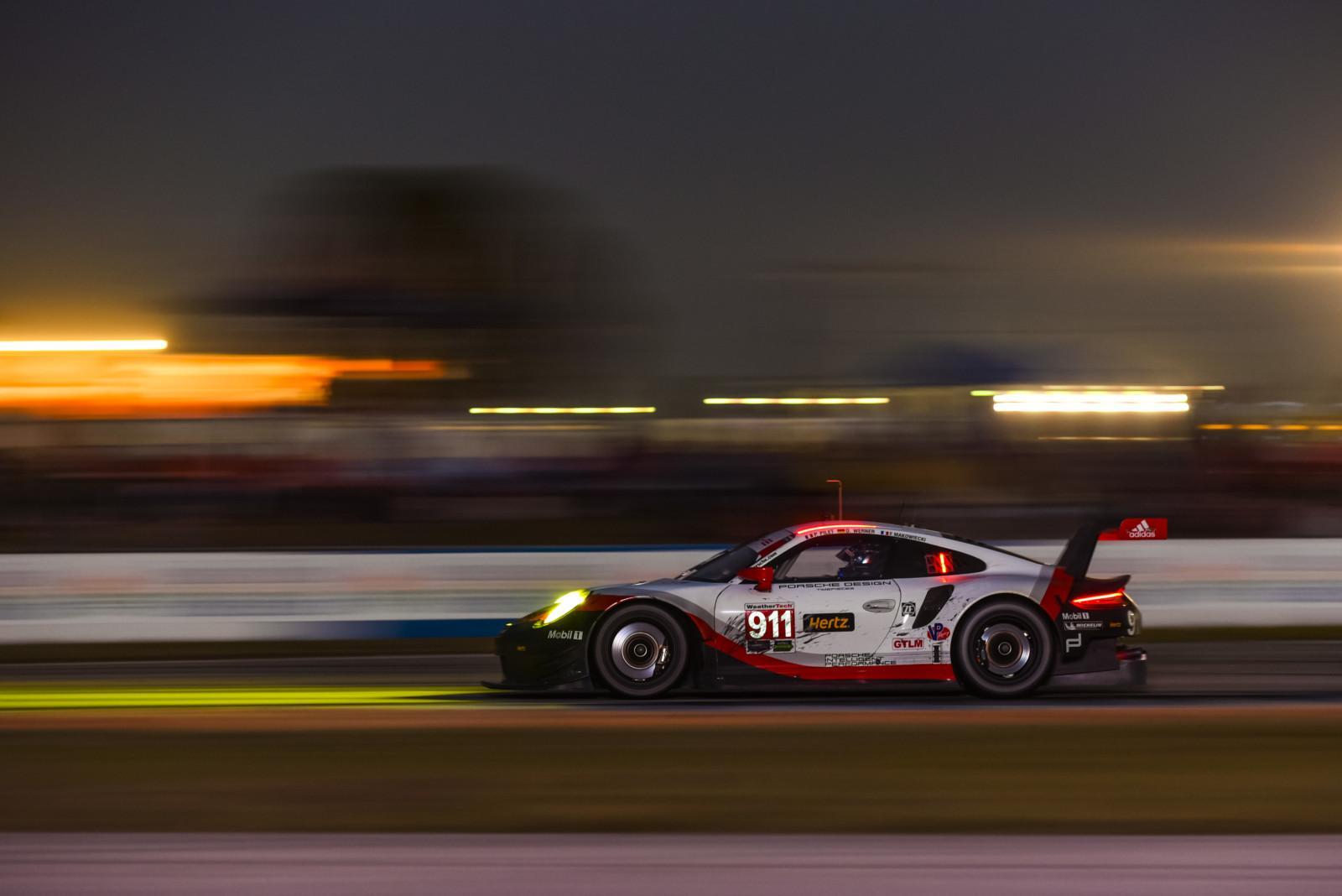 M17 0653 fine - La malchance prive Porsche du podium aux 12 heures de Sebring