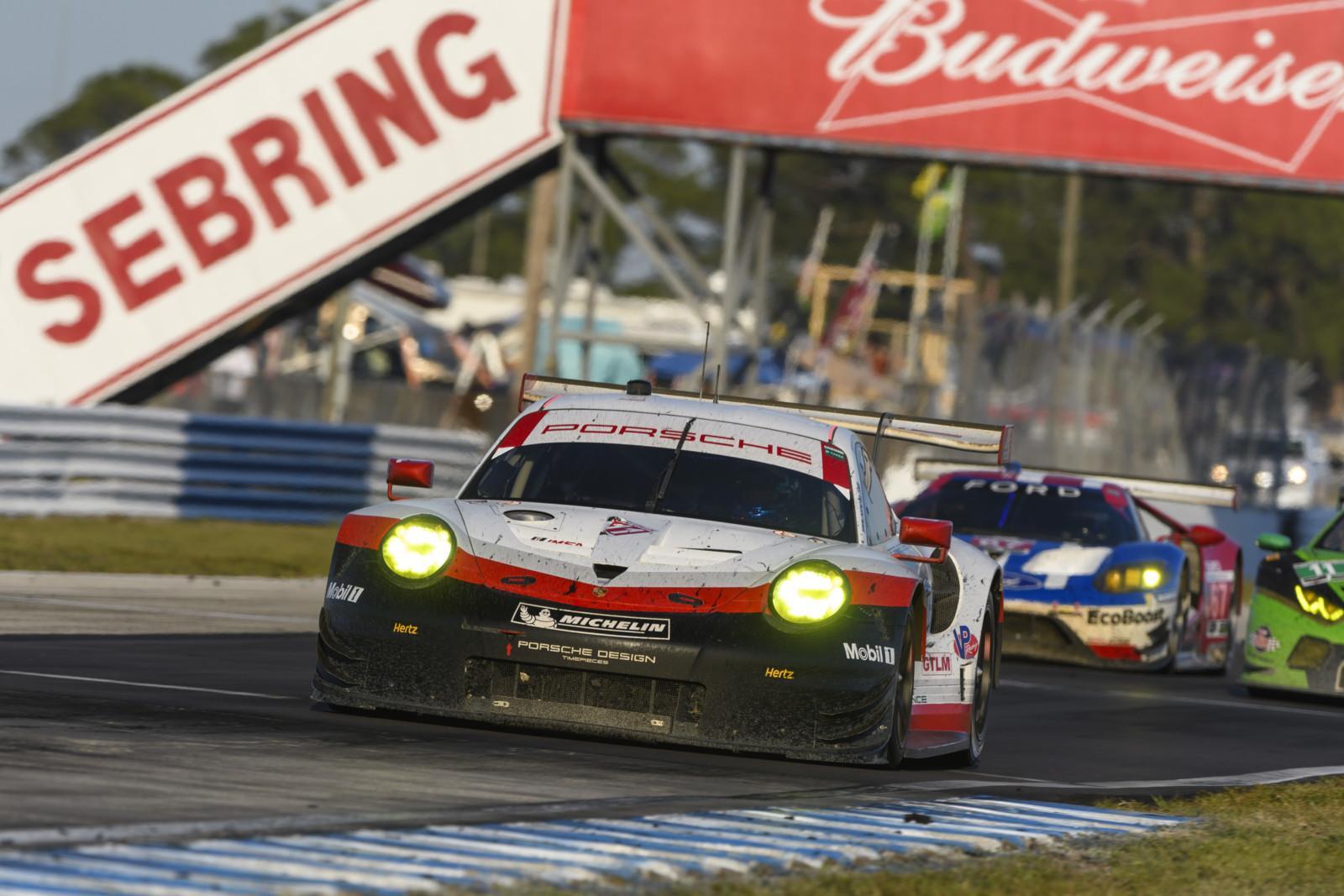 M17 0656 fine - La malchance prive Porsche du podium aux 12 heures de Sebring