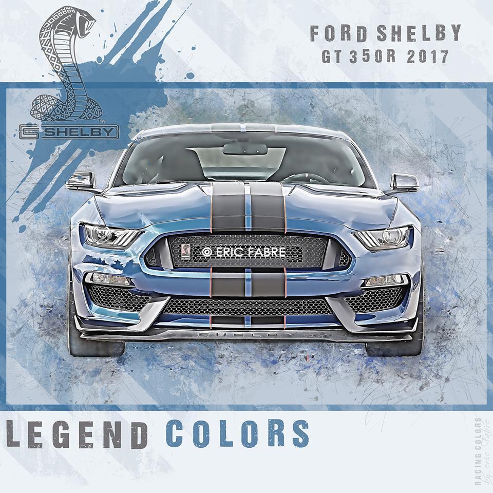 Racing Colors célèbre la Mustang