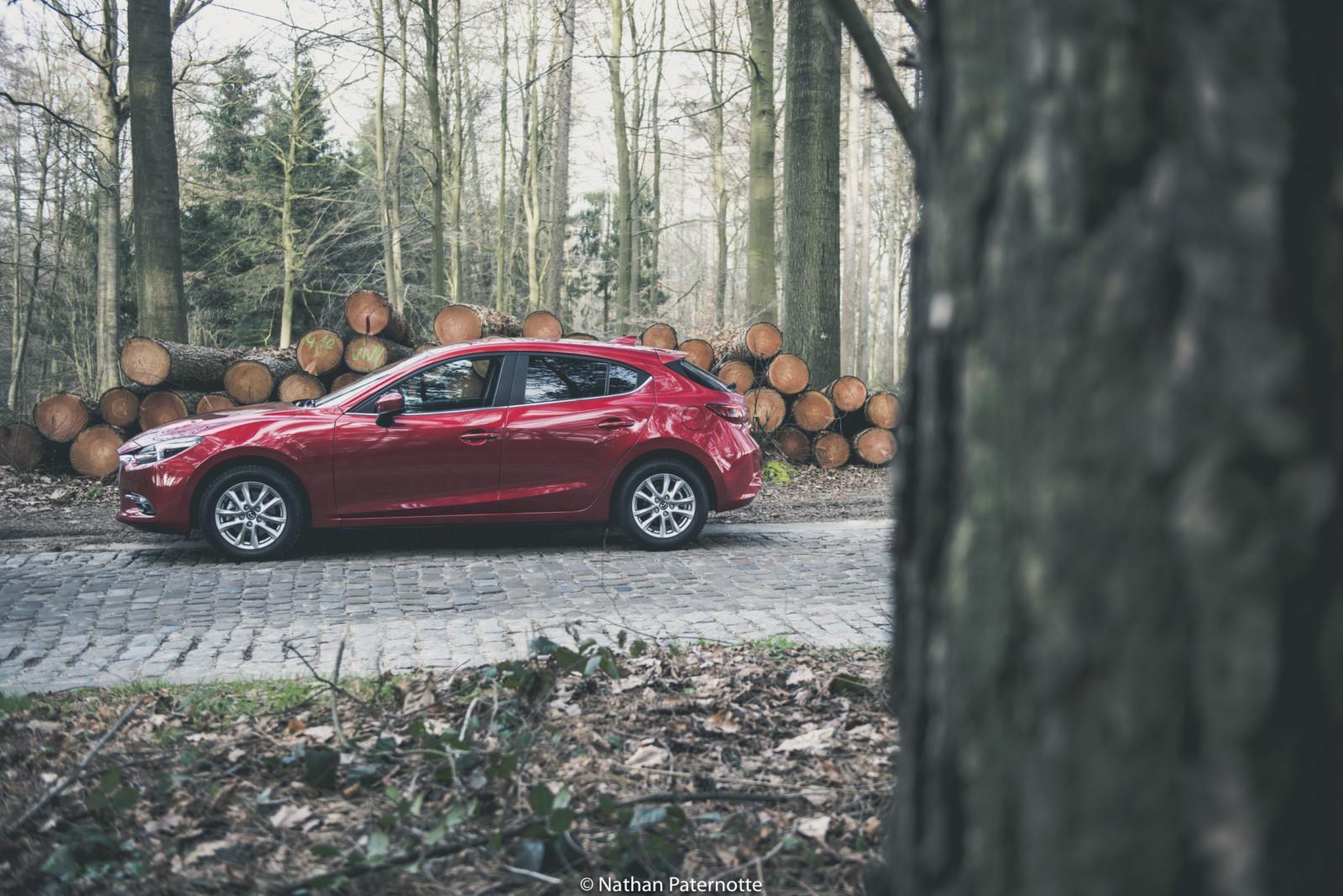 Photo de Essai : Mazda 3 1,5l Skyactiv-D