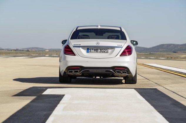 17C164 112 633x420 - Mise à jour pour la Mercedes Classe S