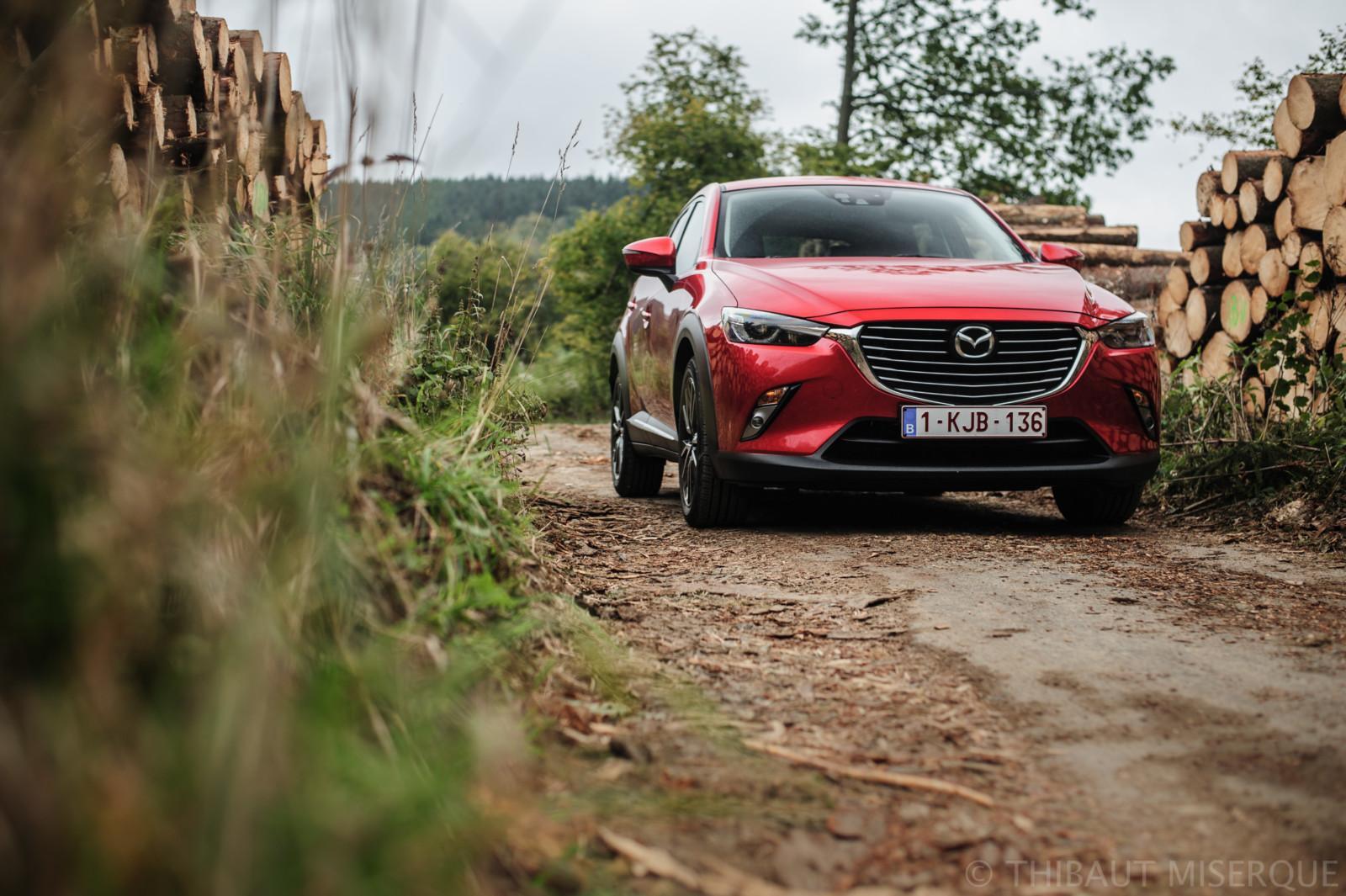 Photo de Essai : Mazda CX-3 Skyactiv-D