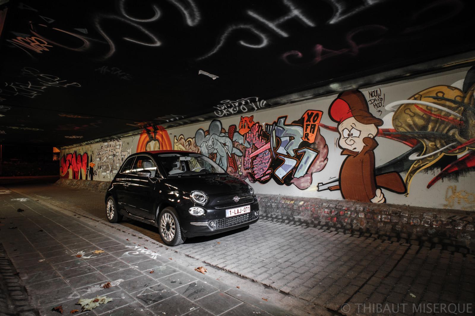 Photo de Essai : Fiat 500 C Lounge 1,2l 69ch