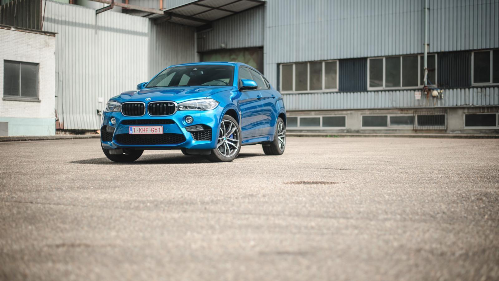 Photo de Essai : BMW X6 M
